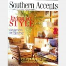 SOUTHERN ACCENTS MAY JUNE 2003 Magazine Jan Showers Isabelle Bosquet Mark Maresca