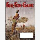 FUR FISH GAME November 2003 Volume 100 No 11 Magazine Mink PHEASANT Blue Cats Trapping