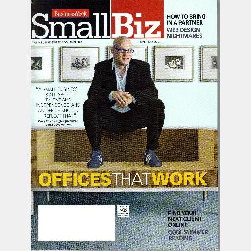 BUSINESS WEEK SMALL BIZ BUSINESSWEEK June July 2007 Magazine Offices That Work Partners