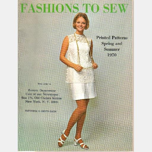FASHIONS TO SEW Catalog 1966 1969 1970 LOT 3 Workbasket Patterns
