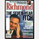 RICHMOND Magazine September 2001 Virginia MAYOR TIM KAINE leaving Ellie Cox Ricky Scaggs