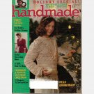 HANDMADE November December 1983 No 11 Magazine Lark Comm Bead Embroidery Jewelry