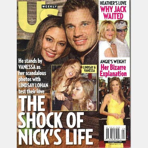 US Weekly June 18 2007 No 644 Magazine Lindsay Lohan Vanessa Minnillo Paris HIlton Angelina Jolie