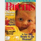 PARENTS March 1993 Magazine Volume 68 Number 3 Sleep Routines Postpartum Weaned AIDS