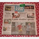 USA TODAY June 12 2008 Newspaper Thursday Corvette COLDPLAY Midwest Flooding Iowa US Open