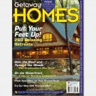 GETAWAY HOMES GT0204 2002 Magazine Homestore Building on Waterfront CABINS PLANS COTTAGES DECKS