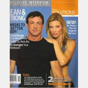 REAL SOLUTIONS Winter 2006 Issue 9 Magazine Sylvester Stallone Raising the Bar on Fitness iSatori