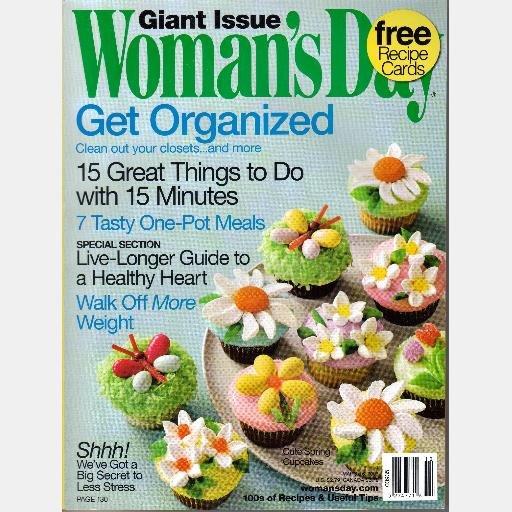 WOMAN'S DAY Magazine March 6 2007 Slow Cooker Recipes Womans Womens