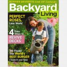 BACKYARD LIVING July August 2004 Magazine Back Issue Revive Decks Perfect Roses