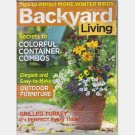 BACKYARD LIVING November December 2004 Winter Birds Grilled Turkey Magazine Back Issue