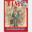TIME July 19 1976 Magazine Olympics Preview Conventions