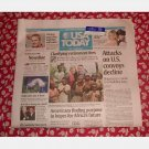 USA TODAY July 22 2008 Tuesday Newspaper Tropical Storm Dolly Tom Lori Wheeler Matt Ryan