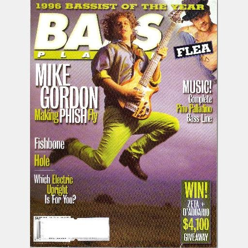 BASS PLAYER DECEMBER 1996 Magazine Fishbone Hole MIKE GORDON PHISH Don Henley New York Minute