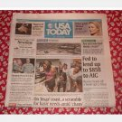 USA TODAY Wall Street Journal September 17 2008 Newspaper Wednesday AIG bailout