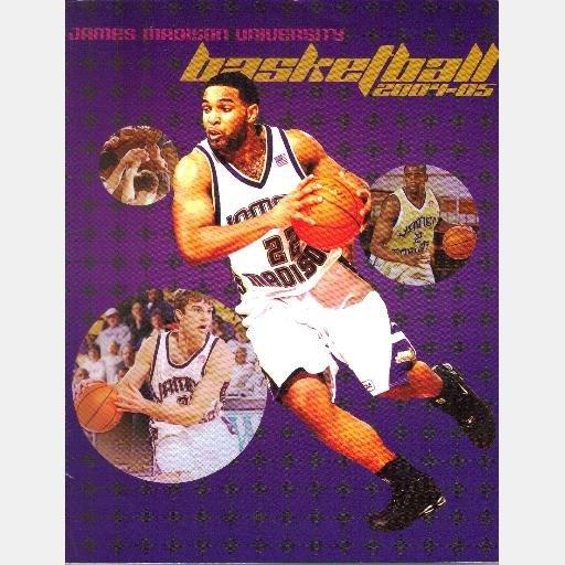 JAMES MADISON UNIVERSITY JMU BASKETBALL Media Guide 2004 2005 Dukes Daniel Freeman John Naparlo