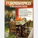 FURNISHINGS & DECORATING IDEAS SPRING SUMMER 1979 Magazine Better Homes and Gardens Special Interest