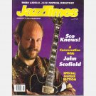 JAZZTIMES JAZZ TIMES April 1991 Magazine JOHN SCOFIELD Mitch Watkins Ray Obeido David Friesen