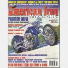 AMERICAN IRON AUGUST 2004 Magazine 185 Harley Davidson Indian 101 Bobber XLCH Sportster Shovelhead