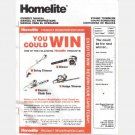 HOMELITE String Trimmer MODEL UT20677 UT20678 UT20679 OWNERS MANUAL GUIDE 1997