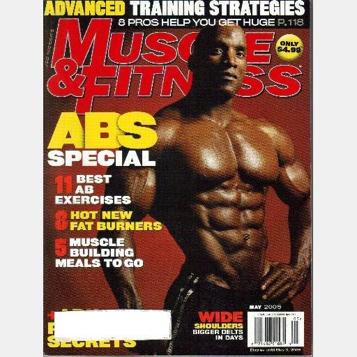 Muscle & Fitness May 2005 Magazine ABS KRIS DIM MR NAP NEW YORK Stacy Simons Jennifer Nicole Lee