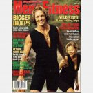 MEN'S FITNESS August 1995 Magazine Joe Weider Bigger Biceps