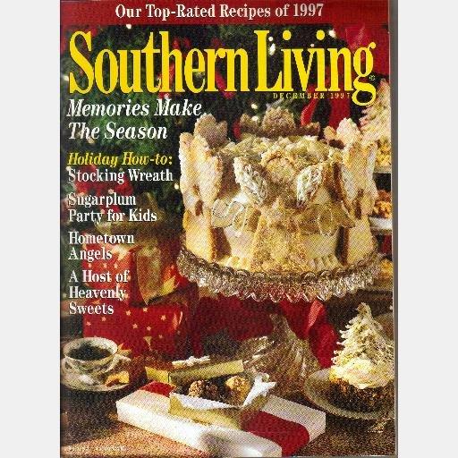 SOUTHERN LIVING December 1997 Magazine Decatur Alabama CHOCOLATE TRUFFLE ANGEL CAKE