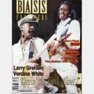 BASS FRONTIERS Magazine Vol 5 No 1 Jan Feb 1998 VERDINE WHITE Larry Graham KEITH HORNE Jason Scheff