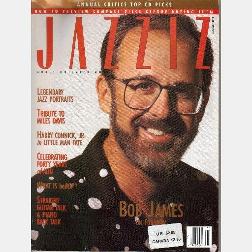 JAZZIZ January 1992 Magazine BOB JAMES Miles Davis DAVE SAMUELS Spyro Gyra LIONEL HAMPTON