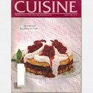 CUISINE August 1982 Magazine RASPBERRY SHORTCAKE Caprilands CHINESE PICNIC Greenwich Village