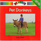 PET DONKEYS Tessa Potter Donna Bailey MY WORLD NEW WAY Red Level Book 1B ISBN 0811443477 1990