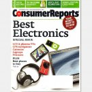 CONSUMER REPORTS December 2008 Magazine Best Electronics LCD Plasma TV GPS Cameras Laptops Wine Cars