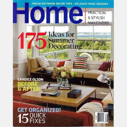 HOME July August 2007 Magazine Candace Olson Peter J Breese Ferryland Cape Cod Piers Meryl Toback