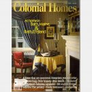 COLONIAL HOMES April 1989 Magazine At Home in Bath Maine England OHIO MOTIFS Sally Lunn Cake
