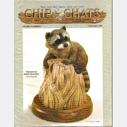 CHIP CHATS March April 2000 Volume 47 Number 2 Magazine Kenny Vermillion GEORGE GRAHAM
