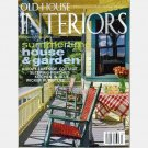 OLD HOUSE INTERIORS July 2006 Magazine Ellen Shipman Cottage Shutters LOON LAKE NY COTTAGE