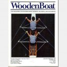 WOODENBOAT Wooden Boat Magazine 1997 LOT 4 Rowing Shells Japanese Tub Draketail Birchbark Canoes