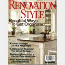 RENOVATION STYLE Fall 2007 Magazine Gray Torpedo Kittery Point ME Forster Jessups 1920 Colonial CT
