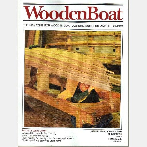 WoodenBoat Wooden Boat Magazine year 2000 152 153 154 155 156 157 Runabouts Pacific Voyaging Canoes