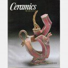CERAMICS MONTHLY MARCH 2002 Vol 50 No 3 Magazine John Chalke NARRATIVE TEAPOTS Jerilyn Virden