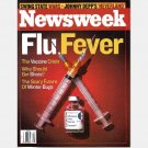 NEWSWEEK November 1 2004 Magazine FLU FEVER Johnny Depp Neverland Jeff Peacock Yosemite Blizzard