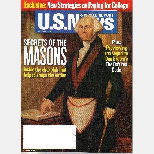 U.S. News & World Report September 5 2005 Magazine SECRETS OF THE MASONS Vol 139 No 8