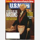U.S. News & World Report September 5 2005 Magazine SECRETS OF THE MASONS Vol 139 No 8