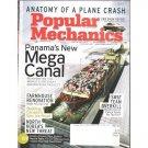POPULAR MECHANICS February 2007 Magazine Panama's New Mega Canal PLANE CRASH Farmhouse Renovation
