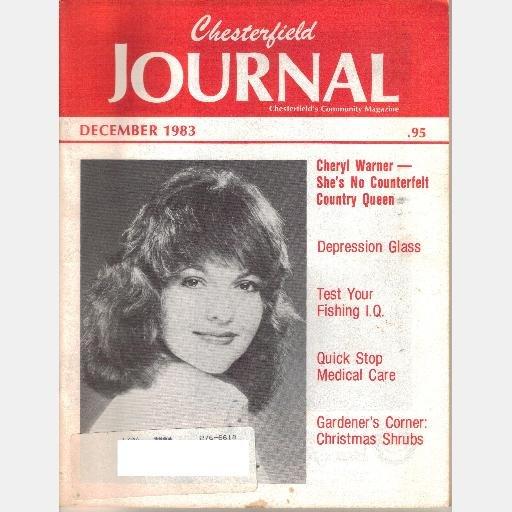 CHESTERFIELD JOURNAL December 1983 Magazine Virginia CHERYL WARNER COUNTRY QUEEN Martha Steger