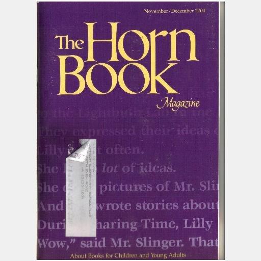 THE HORN BOOK November December 2004 Vol 80 LXXX No 6 Magazine