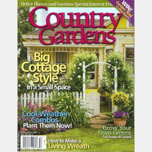 Country Gardens Early Spring 2009 Vol 18 Better Homes And