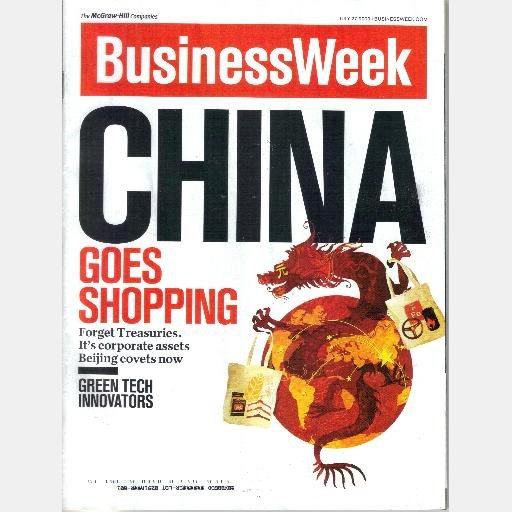 BUSINESS WEEK BUSINESSWEEK Magazine July 27 2009 CHINA GOES SHOPPING corporate assets