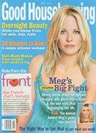 Good Housekeeping April 2003 Magazine Meg Ryan Cover Jackie Kallen Queen Noor