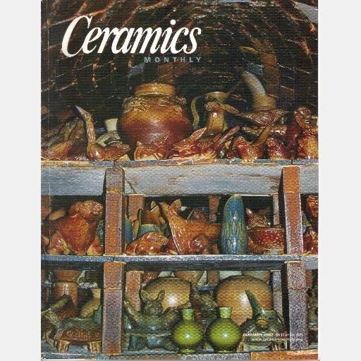 CERAMICS MONTHLY January 2002 Magazine Vol 50  Judy Peter Rose Judith Salomon Mary Quagliata