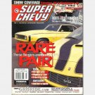 SUPER CHEVY March 2001 Magazine Rare Pair Riley Berger Camaros Whipplechargin Paul Collings 1972